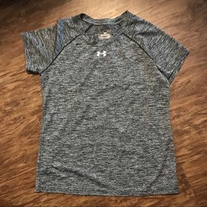 Adidas loose fit workout top, small